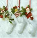 Gefüllte Weihnachtsstrümpfe - Stuffed Christmas Stockings - Stuffed Bas de Noël