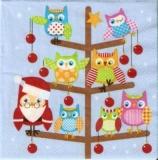 Eulenweihnachtsbaum - Owls Christmas Tree - Arbre de noël de hibou