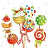 Cake Pops - Leckere Kuchen & Lollies - Delicious Cakes & lollipops - De délicieux gâteaux & sucettes