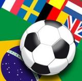 Fussball, Flaggen, Weltmeisterschaft Brasilien - Soccer, Flag, World Cup Brazil - Football, Drapeau, la Coupe du Monde au Brésil