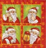 Wunderschöne Weihnachtsmann-Collage - Beautiful Santa Claus Collage - Belle Père Noël Collage