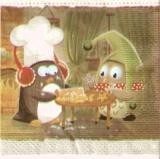 Pinguin & Eule backen Plätzchen - Penguin & Owl bake cookies - Penguin & Owl Faire cuire les biscuits