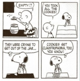 Comic Peanuts - Cookies