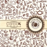 Coffee House, Kaffee-Sorten, Geschirr - Coffee varieties, dishes - Variétés de café, plats