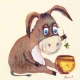 Esel & Schaf - Donkey & sheep - Âne & moutons