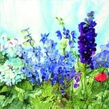 Blumenwiese blau - Flower meadow blue - Prairie fleur bleue