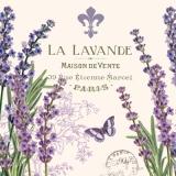 Lavendel, Schmetterling, Paris - Lavender, Butterfly - Lavande, Papillon, Fleur de lis, maison de vente