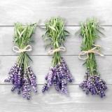 3 kleine Lavendelsträußchen - 3 little lavender bouquets - 3 petits bouquets de lavande