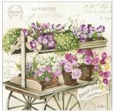Auf dem Blumenmarkt - Flower market - Sur le marché aux fleurs