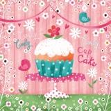 2 kleine Vögel un ein kleiner Kuchen - 2 little birds & a cupcake - Deux petits oiseaux et un petit gâteau
