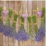 Kleine Lavendelsträußchen & Herzen - Small lavender bouquets & hearts - Petits petits bouquets de lavande & coeurs
