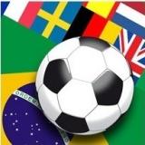 Fußball und Flaggen - Football & Flags - Football et drapeau