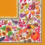Vögel, Eule, Igel, Blumen, Pflanzen, Kürbis.....- Birds, owl, hedgehog, flowers, plants, pumpkin ..... - Oiseaux, hibou, hérisson, fleurs, plantes, citrouille .....