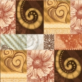 Blüten, Muster, Herzen elegant - Flowers, patterns, hearts - elegant - Fleurs, motifs, cœurs - élégantes