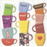 Bunte Tassen - Colorful cups - Tasses colorées