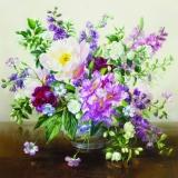 Hübscher Blumenstrauß in Vase - Pretty bouquet in vase - Joli bouquet dans un vase