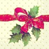 Rote Geschenkschleife - Red ribbon - Ruban rouge
