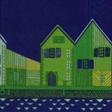 Häuser, Straße grün - Houses, Street green - Logement, route verte