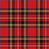 Schottenmuster - Tartan red, rouge