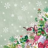 2 kleine Vögel & Blumen - 2 little birds & flowers - 2 petits oiseaux et fleurs