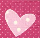 Großes Herz & Punkte - Big heart - Grand coeur