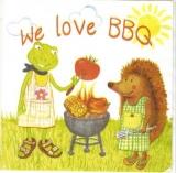 Frosch & Igel am Grill - Frog & Hedgehog: We love BBQ - Frog et le hérisson sur Barbecue