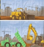 Auf einer Großbaustelle - Construction site - Chantier de construction