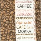 Kaffee, Latte Macchiato, Café con leche, Espresso, Cappuchino. Café au lait, Café latte, Mokka, Caffè doppio, Café americano