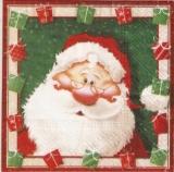 Weihnachtsmann mit Geschenken - Father Christmas with gifts - Père Noël avec des cadeaux