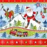 Großer Weihnachtsspaß mit Weihnachtsmann - Big christmas fun with santa Claus - Grand plaisir de Noël avec Père Noël