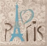 Paris, Eiffelturm - Eiffel Tower, Tour Eiffel