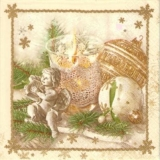 Weihnachtsdeko mit Engel - Christmas decoration with angel - Décoration de Noël avec ange