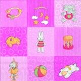 Mädchen - Baby-Spielzeug rose - Baby girls toys pink - Jouets pour bébés filles