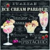 Eisdiele, köstliche Eisbecher, leckeres italienisches Eis sch. - Ice-cream parlour, delightful sundaes, tasty Italian ice - Glacier, coupes glacées délicieuses, glace italienne délicieuse