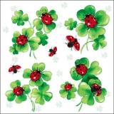 Klee, Glücksklee & Marienkäfer - Lots of luck, Clover, Ladybirds - Trèfle, trèfle de bonheur & coccinelle