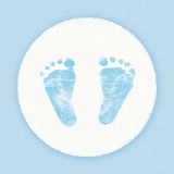 Baby, Fußabdrücke, Junge - Baby boy, footprints - Garçon de bébé, caractères de pied