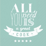 All you need is a great cook