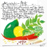 Avocado Pesto, Rezept - Avocado pesto, recipe - Avocat pesto, recette -