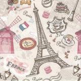 Paris, Moulin Rouge, Bistro, Croissant, Cafe, Muffin, Eiffel Turm, Eiffel Tower, Tour Eiffel