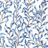 Blaue Blätter - Blue Leaves - Feuilles bleues