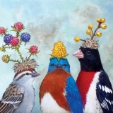 Vögel & Beeren - Birds & Berries - Oiseaux et baies