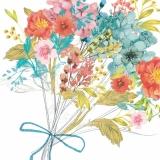 Hübscher Blumestrauß - Pretty flower bouquet - Bouquet de fleur joli
