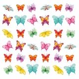 Viele, bunte Schmetterlinge - Many, coloured butterflies - Plusieurs, papillons multicolores