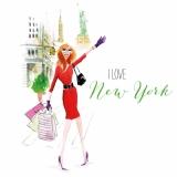 Mädchen/Frau aus New York, Ich liebe New York - New York City Girl, I love New York - Mademoiselle de New York , Jaime New York