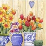Töpfe & Kannen mit Blumen - Flowerpots & pots with flowers - Pots à fleurs & pichets avec des fleurs