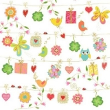 Blumensträuße, Eule, Geschenke, Schmetterlinge, Vögel, Herzen, Klee, Marienkäfer.... - Flower Bouquets, owl, presents, butterflies, birds, hearts, clover, ladybird.... - Bouquets de fleurs, hibou, cad