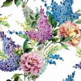Rosen & Flieder wunderschön - Roses & Lilac beautiful - Roses et lilas magnifiquement