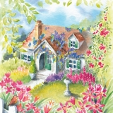 Landhaus mit wunderschönem Vorgarten - Country house with wonderful front garden - Maison de campagne avec le jardin devant la maison merveilleux