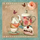 Einladung zu Kaffee und Kuchen - Invitation for coffee and cake - Invitation au café et gâteau
