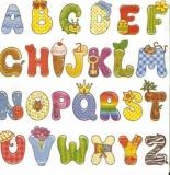Buchstaben, ABC, buchstabieren, das Alphabet - Letters, ABC, spell, the alphabet - Des lettres, lALPHABET, épellent